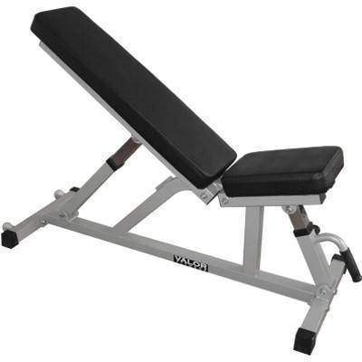 Valor Fitness DD-21 Incline/Flat Utility Bench W/Wheels - Fitness Gear
