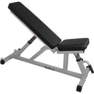 Valor Fitness DD-21 Incline/Flat Utility Bench W/Wheels - FitnessGearUSA.Com