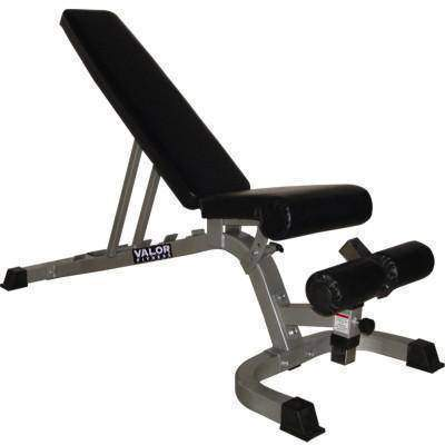 Valor Fitness DD-4 Adjustable Utility Bench FID - Fitness Gear