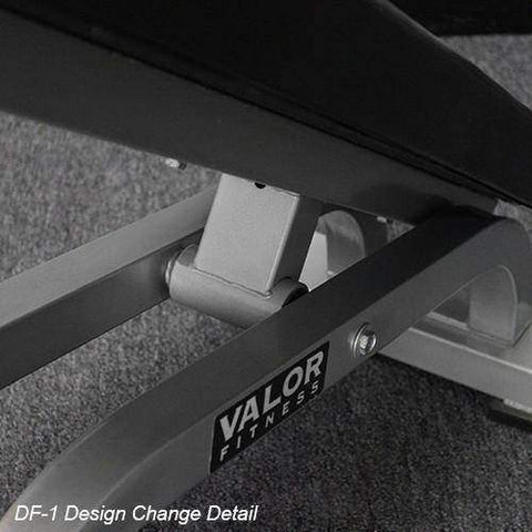 Image of Valor Fitness DF-1 Decline/Flat Bench Pro - FitnessGearUSA.Com