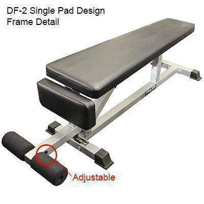 Valor Fitness DF-2 Decline/Flat Bench - Fitness Gear