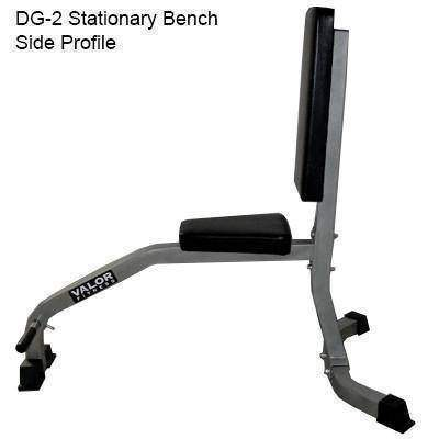 Valor Fitness DG-2 Stationary Bench - Fitness Gear