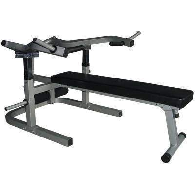 Image of Valor Fitness Lever Bench w/decline/sit up position - Fitness Gear