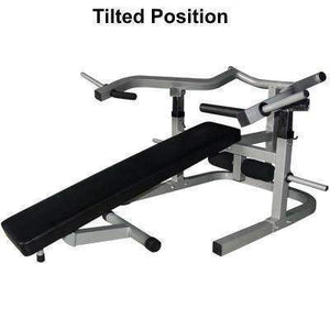 Valor Fitness Lever Bench w/decline/sit up position - Fitness Gear
