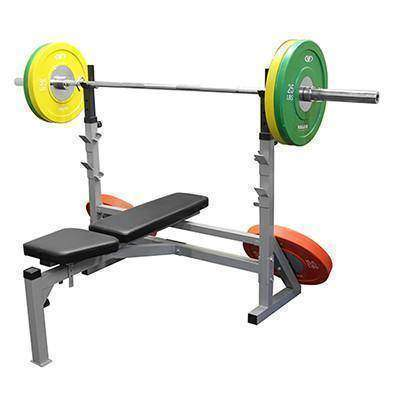 Valor Fitness Olympic Adj. Bench Inc. Decline - Fitness Gear