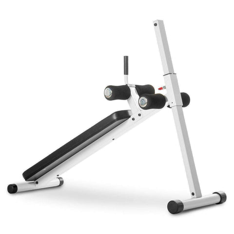 Image of XMark 12 Position Adjustable Ab Bench XM-4416.1-White - Fitness Gear