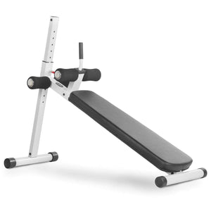 XMark 12 Position Adjustable Ab Bench XM-4416.1-White - Fitness Gear