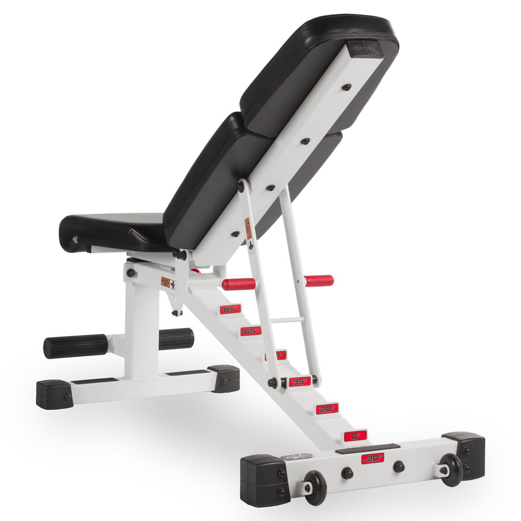 Bench - XMark Adjustable Dumbbell Weight Bench XM-7630-White