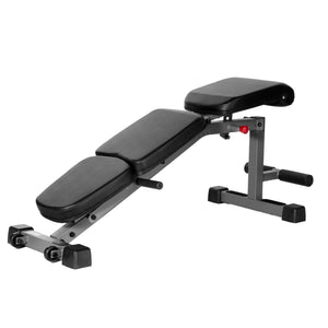 XMark Adjustable FID Flat Incline Decline Dumbbell Bench XM-4440 - Fitness Gear
