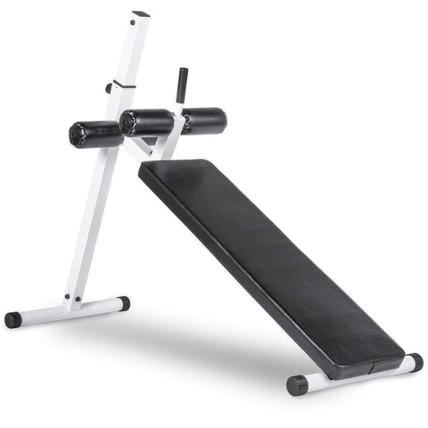Bench - Xmark Decline Ab Bench - XM-4380-WHITE