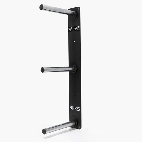 Image of Peg Wall mounted bumper plate storage - FitnessGearUSA.Com