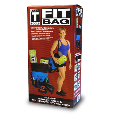Image of Body Solid Tools Fit Bag with items - FitnessGearUSA.Com