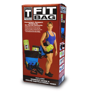 Body Solid Tools Fit Bag with items - FitnessGearUSA.Com