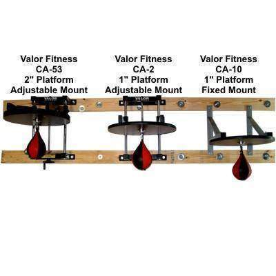 "Valor Fitness CA-53  2"" Speed Bag Platform - Fitness Gear"