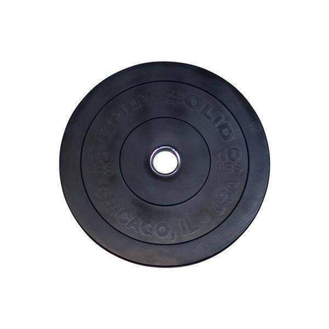 "10LB Chicago Extreme Bumper Plate, 17.72"", FULL COMMERCIAL - Fitness Gear"