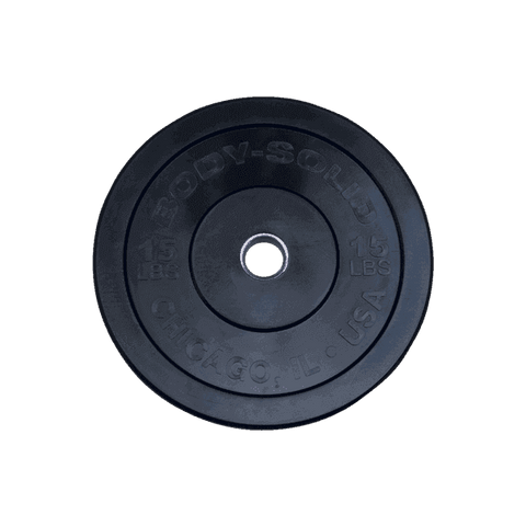 "15LB Chicago Extreme Bumper Plate, 17.72"", FULL COMMERCIAL - Fitness Gear"