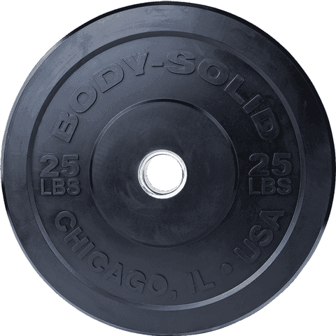 "25LB Chicago Extreme Bumper Plate, 17.72"", FULL COMMERCIAL - Fitness Gear"