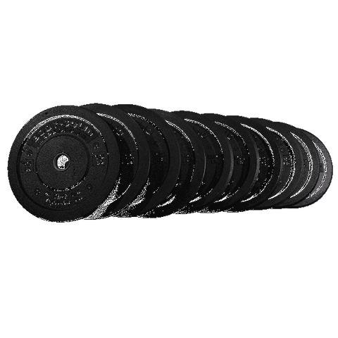 260LB Bumper Plate Set, PAIRS 10,15,25,35,45 - Fitness Gear