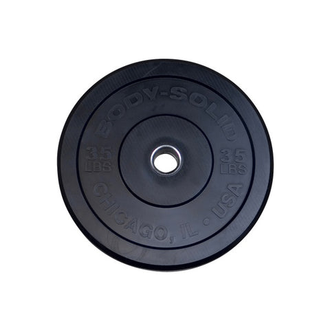 "35LB Chicago Extreme Bumper Plate, 17.72"", FULL COMMERCIAL - Fitness Gear"