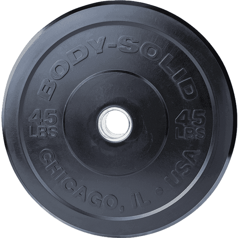 "Image of 45LB Chicago Extreme Bumper Plate, 17.72"", FULL COMMERCIAL - Fitness Gear"