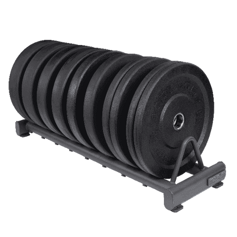 Image of Rubber Bumper Plate Rack - Fitness Gear