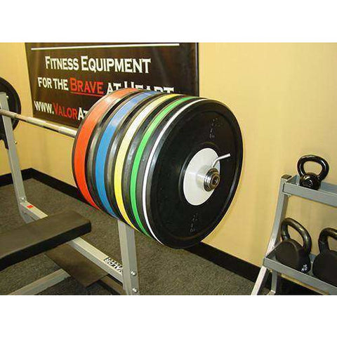 Image of Valor Fitness 55lb. BPP-55 Bumper Plate Pro (1) - Fitness Gear