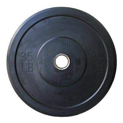 Image of Valor Fitness BP-35 35lb Bumper Plates (1) - Fitness Gear