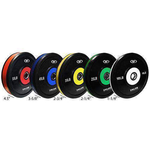 Image of Valor Fitness BPP-45 45lb. Bumper Plate Pro (1) - Fitness Gear