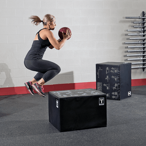 "Image of 3 Way Soft Plyo Box, 20"", 24"", 30"" - Fitness Gear"