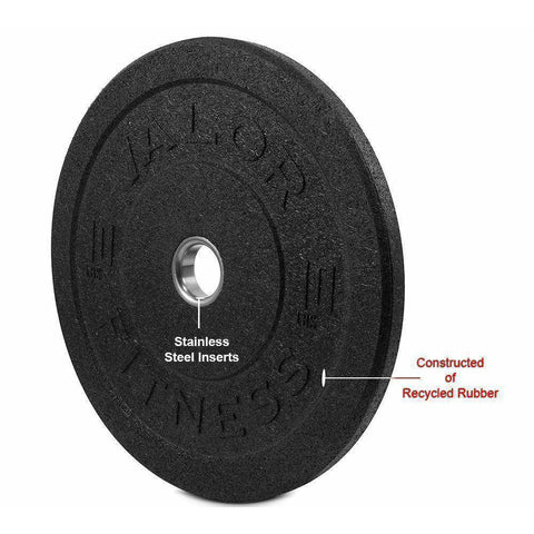 Image of BPH-10 HT Bumper Plate 10lb - Fitness Gear