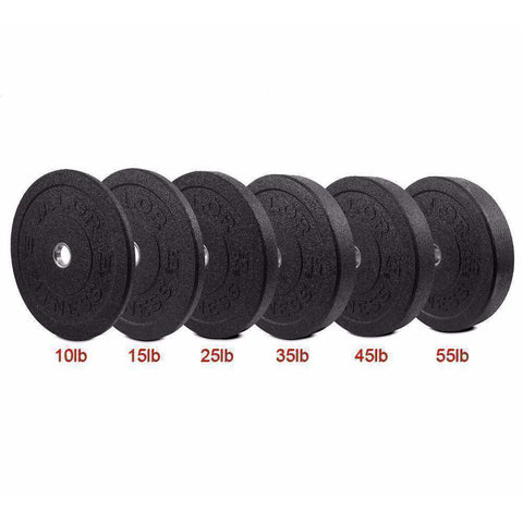 Image of BPH-55 HT Bumper Plate 55lb - Fitness Gear
