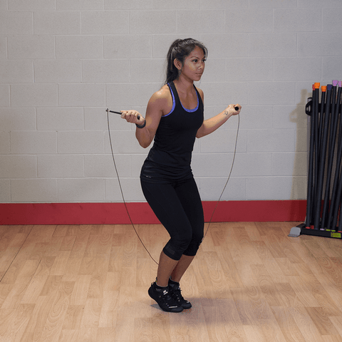 Image of Cable Speed Rope - Fitness Gear
