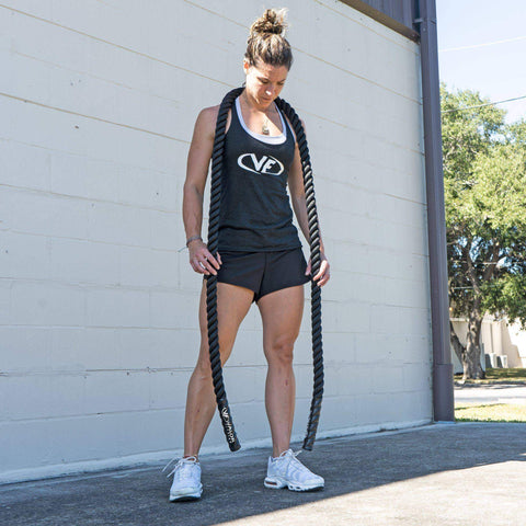 "Valor Fitness HR-1.5 1.5"" Heavy Jump Rope - Fitness Gear"