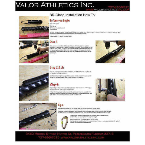 Valor Fitness Rope Clasp BR-Clasp - Fitness Gear
