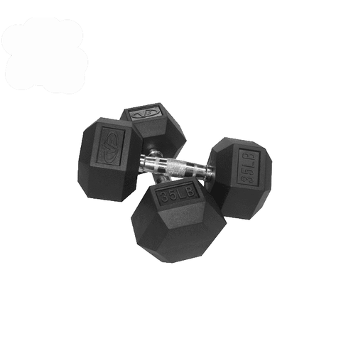 Valor Fitness 35lb Dumbbell (2) RH-35 - Fitness Gear