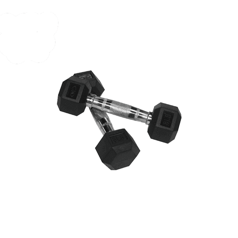 Valor Fitness 8 lb Dumbbell (2) RH-8 - Fitness Gear