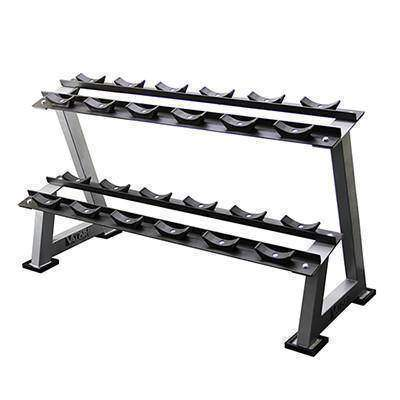 Image of Valor FitnessBG-10  6 Pair Dumbbell Rack - Fitness Gear