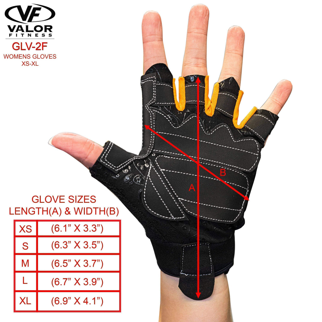 Valor Fitness GLV-2F Women's Weightlifting Gloves - Fitness Gear