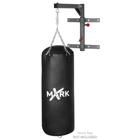 Image of Heavy Bag - XMark Spacemiser Pivoting Heavy Bag Wall Mount XM-2831