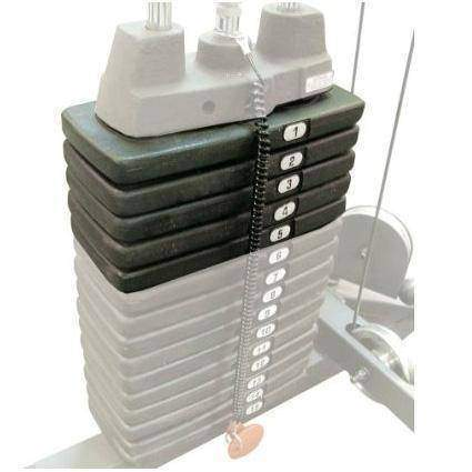 Image of 50lb. Selectorized Weight Stack Upgrade - Fitness Gear