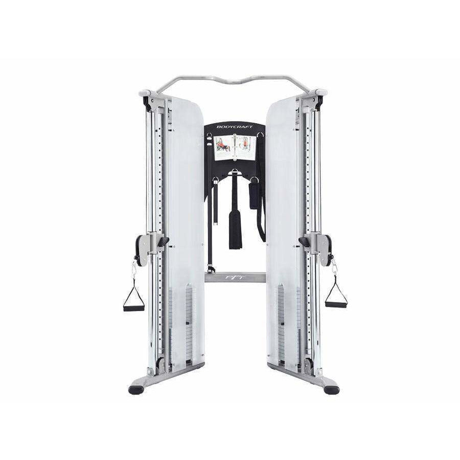 BodyCraft PFT V2 Functional Trainer with 160lb Weight Stacks - Fitness Gear