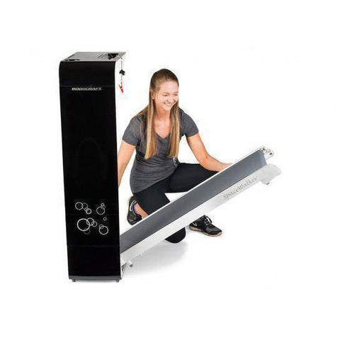 Image of BodyCraft Spacewalker Treadmill Black/White - Fitness Gear