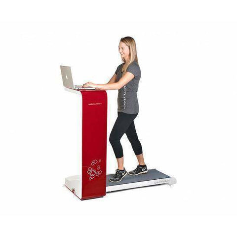 BodyCraft Spacewalker Treadmill Red/White - Fitness Gear