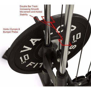 Valor Fitness BD-61 Cable Crossover Station - Fitness Gear