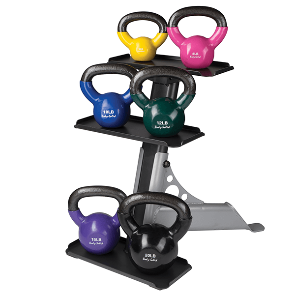 3 Tier Kettle Bell Rack - Fitness Gear