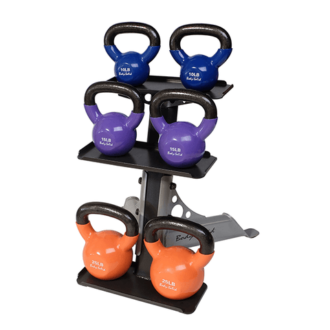 Image of 3 Tier Kettle Bell Rack - FitnessGearUSA.Com
