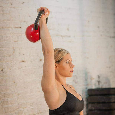 Image of 5-30 lb. Body-Solid Vinyl Dipped Kettleball Set - FitnessGearUSA.Com