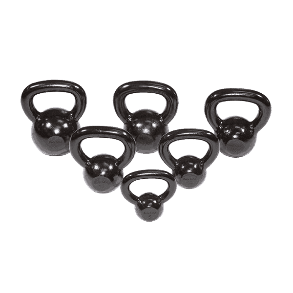 Kettle Bell Set Singles 5-30lbs - Fitness Gear