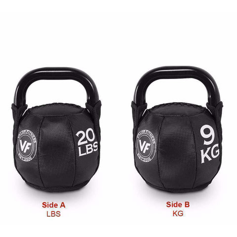 SKB-20 Valor Fitness 20lb Soft Kettlebell - Fitness Gear
