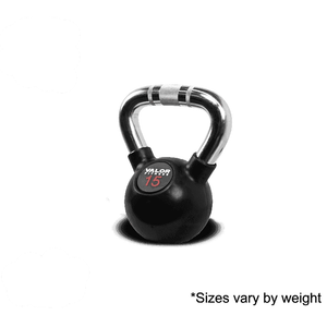 Valor Fitness Chrome Kettle Bell 15lb CKB-15 - Fitness Gear